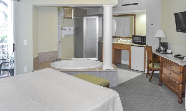 Adjoining Three-Bedroom Suite